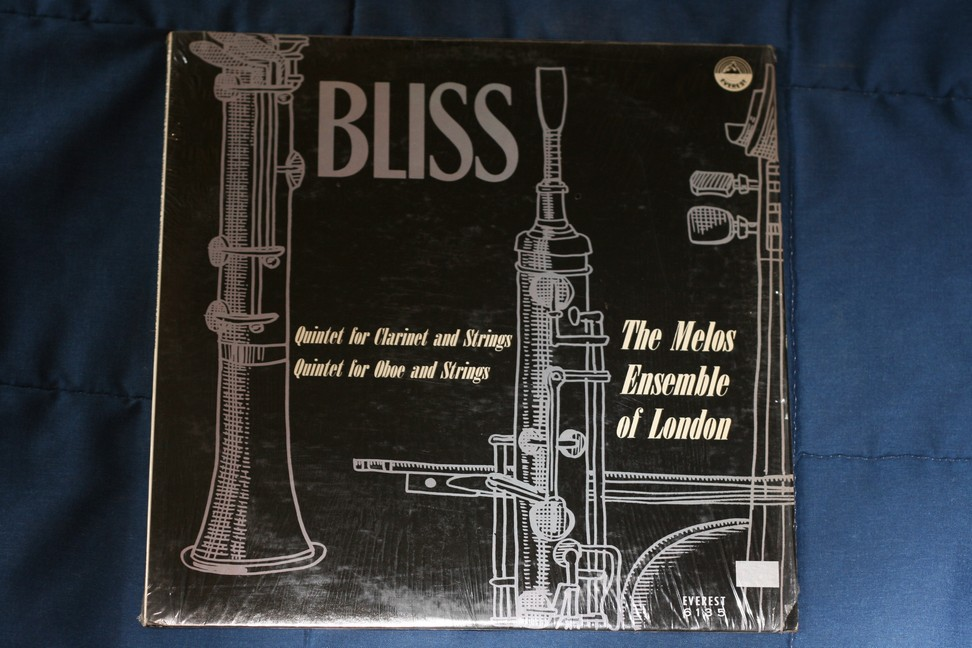 Bliss Quintet for clarinet and Strings Everest 6135