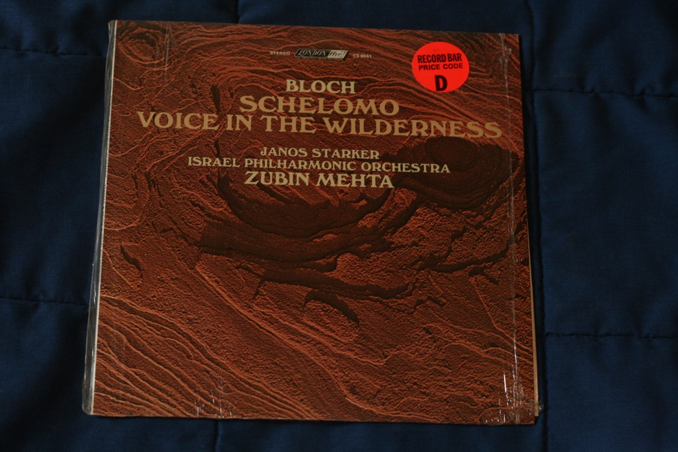 Bloch Schelomo Voice In The Wilderness CS6661