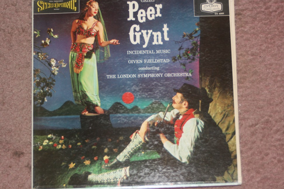 LONDON CS 6049 GRIEG  Peer Gynt  TAS  Blue Back FFSS