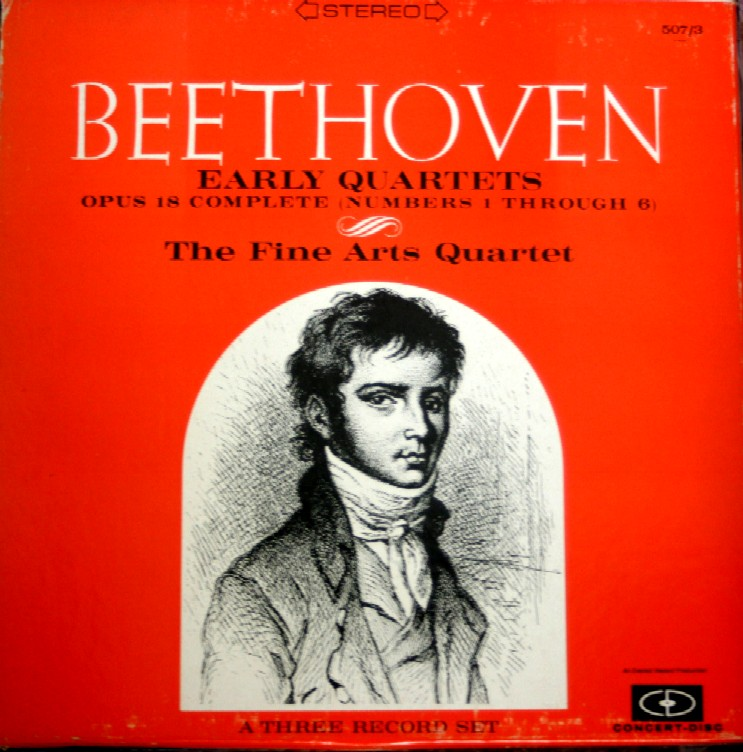Beethoven Early Quartets 507/3    $28
