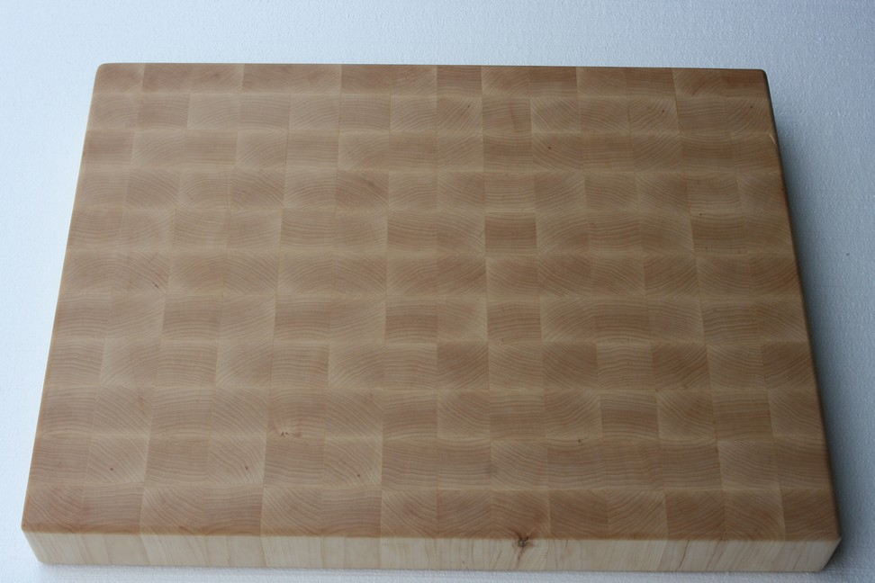 maple end grain cutting board at timbernation,
