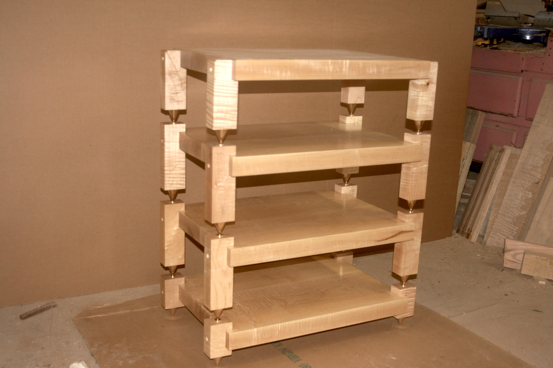 Tiger Maple Stack Rack