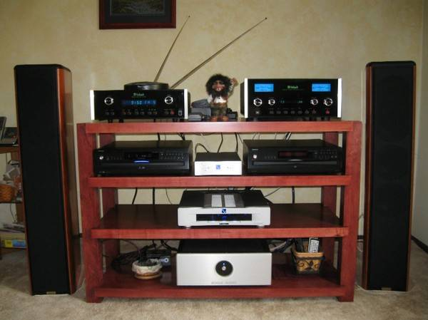 4 shelf Stereo Rack