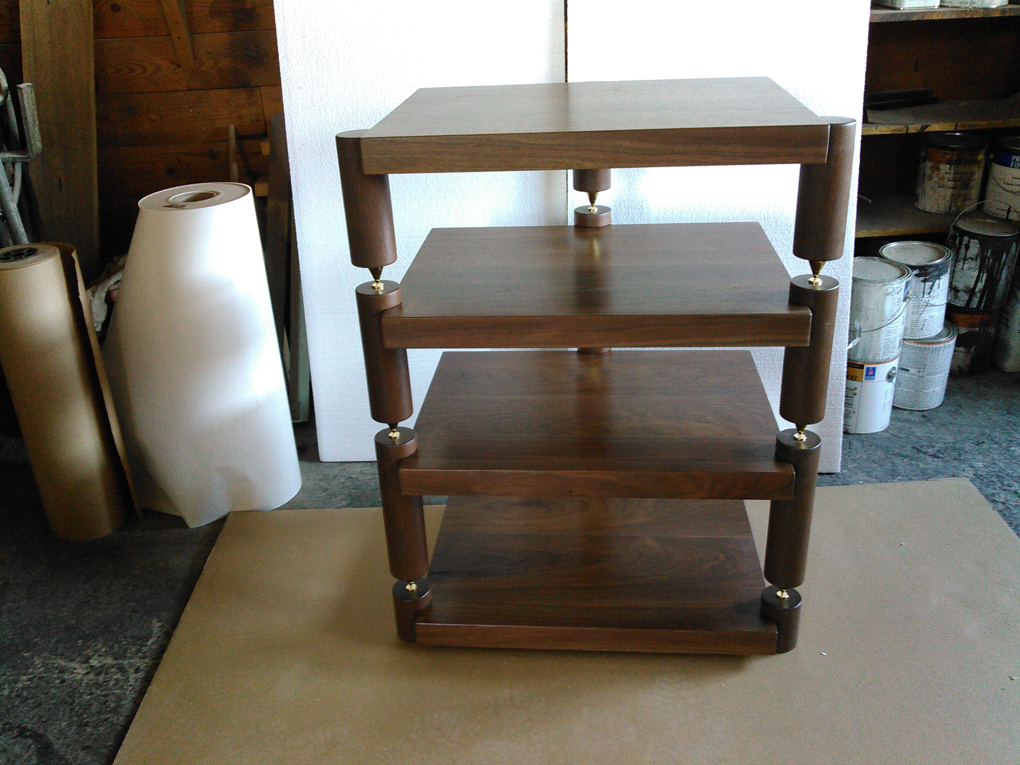 Custom Furniture Hi End Audio Stereo Racks And Isolation Platforms At Timber Nation